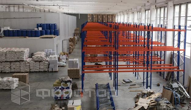 Фронтальные стеллажи на холодильный склад