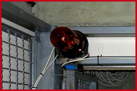Световая и звуковая сигнализация