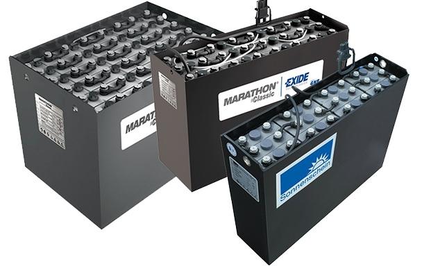 Тяговые батареи Exide, аккумуляторы и зарядные устройства
