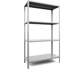 Shelving racks Start up to 120 kg per shelf