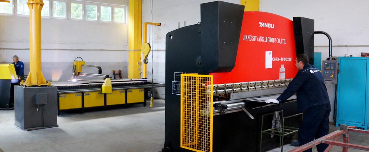 Оборудование на заводе Форстор