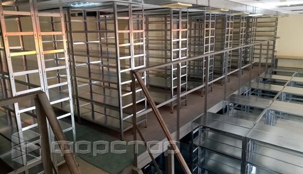 Архивные стеллажи для банка