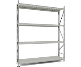 Shelving racks Master up to 400 kg per shelf